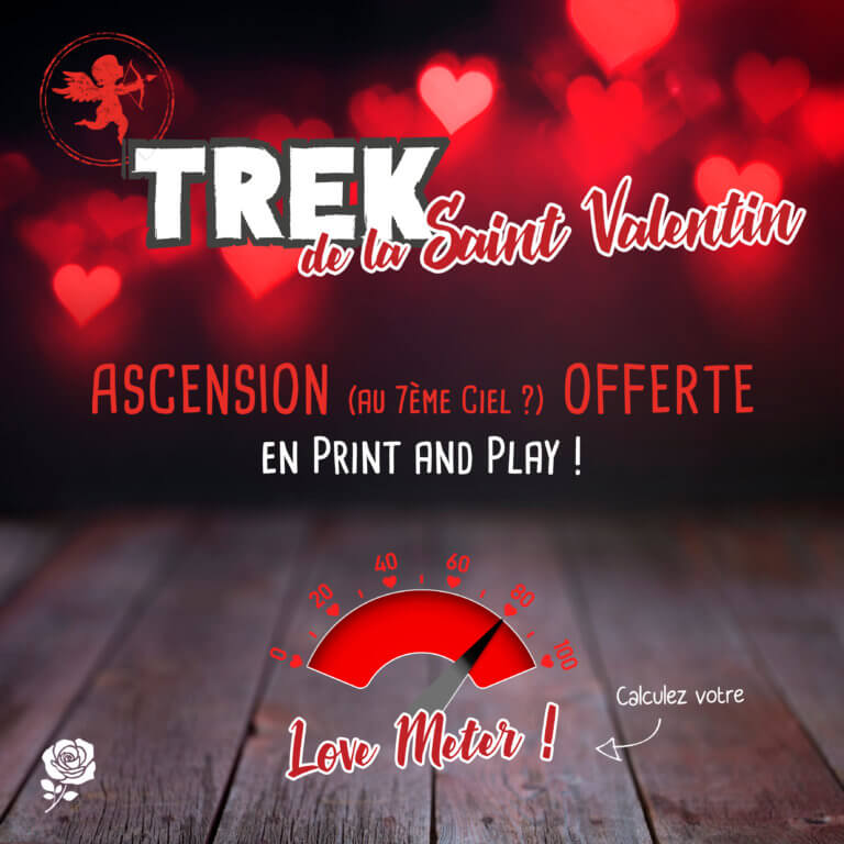 TREK de la SAINT VALENTIN - Mini Extension offerte